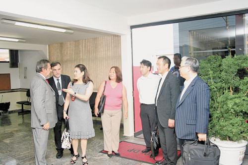 TATUAPÉ – Grupo do Japão visita 30º DP