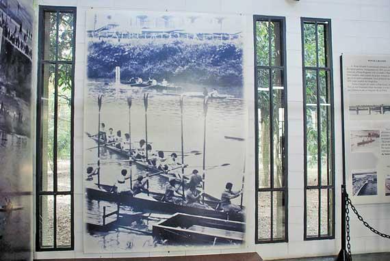 CANGAÍBA – Show e museu são opções de lazer no Parque Ecológico