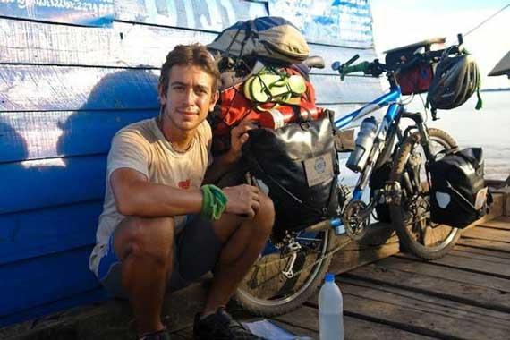 A volta ao mundo de bike