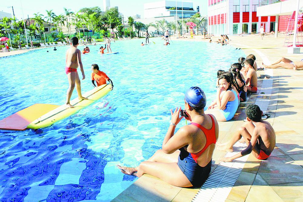 Dia do Desafio reúne atividades aquáticas e terrestres