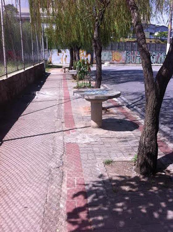 VILA RÉ – Praça Antônio Alberto necessita de zeladoria