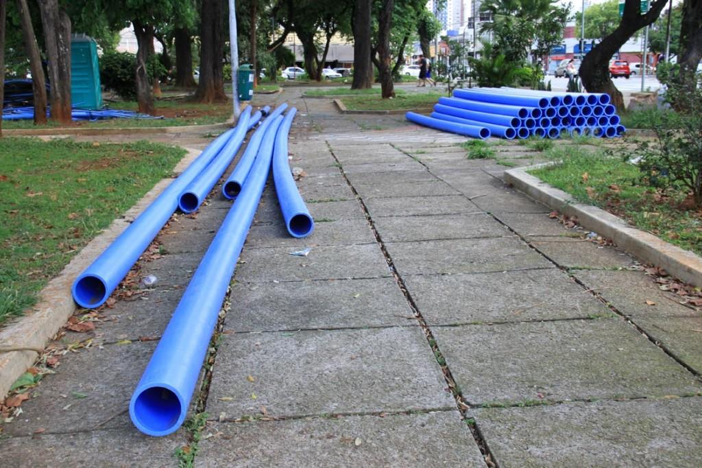 PÇA. STA TEREZINHA – Sem 'piscinão' em 2014