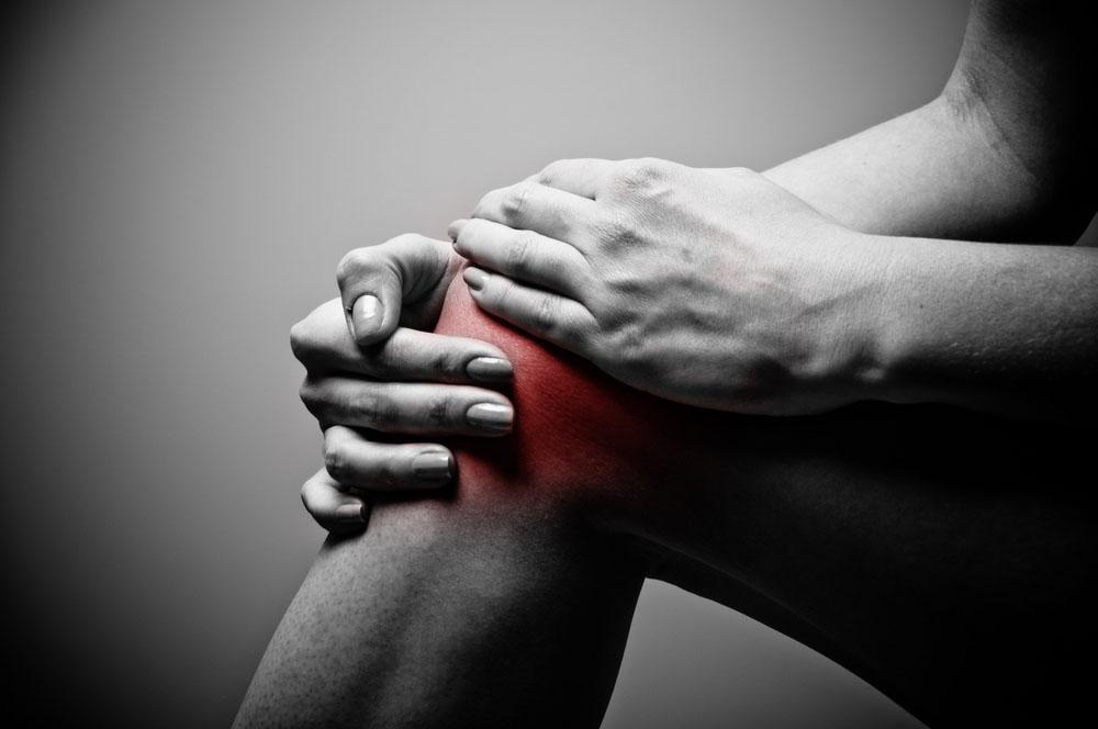 Dores no joelho e dor na coluna tratadas por acupuntura
