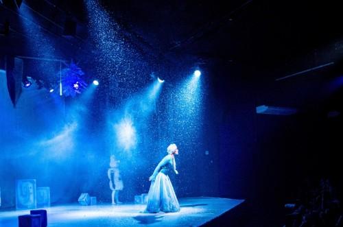 'Uma Aventura Congelante no Teatro'