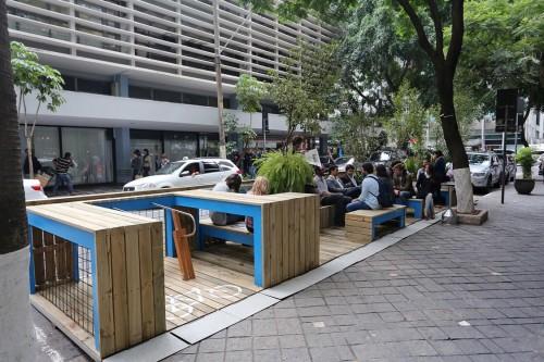 Parklets: Projeto pretende criar mais  espaços para convivência