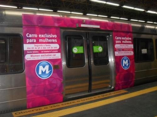 Metrô terá vagão para mulheres