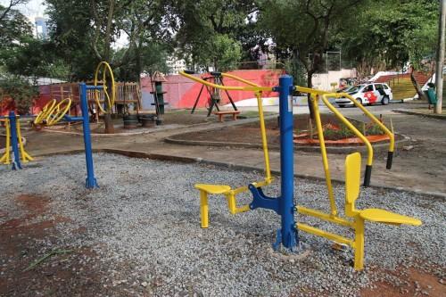 TATUAPÉ – Praça revitalizada ganha cor, brinquedos e mais segurança