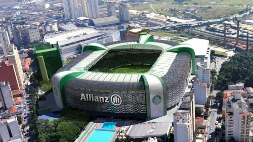 Palmeiras lucra mais do que Itaquerão