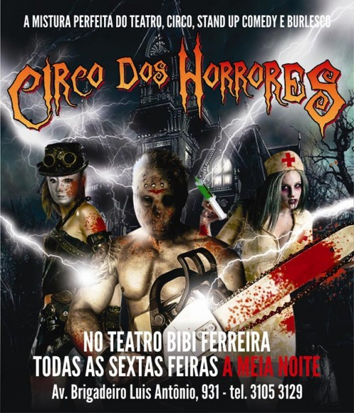 'Circo dos horrores'