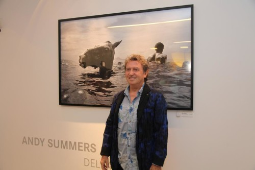 Andy Summers expõe