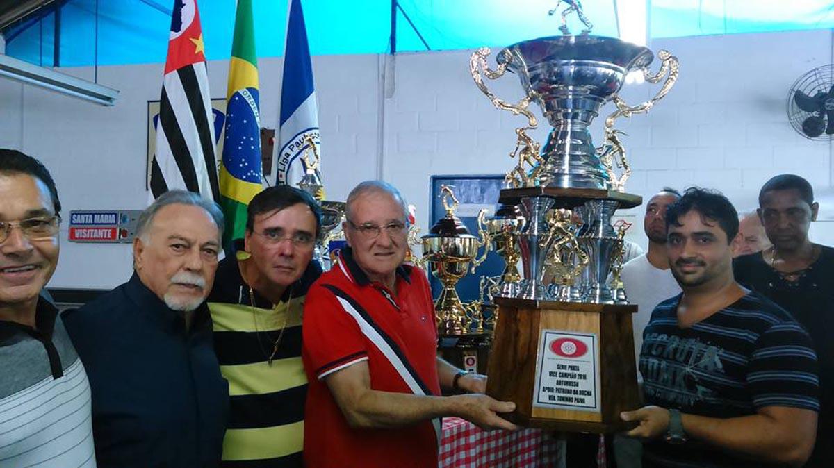 Campeonato de Bocha no Clube Santa Maria