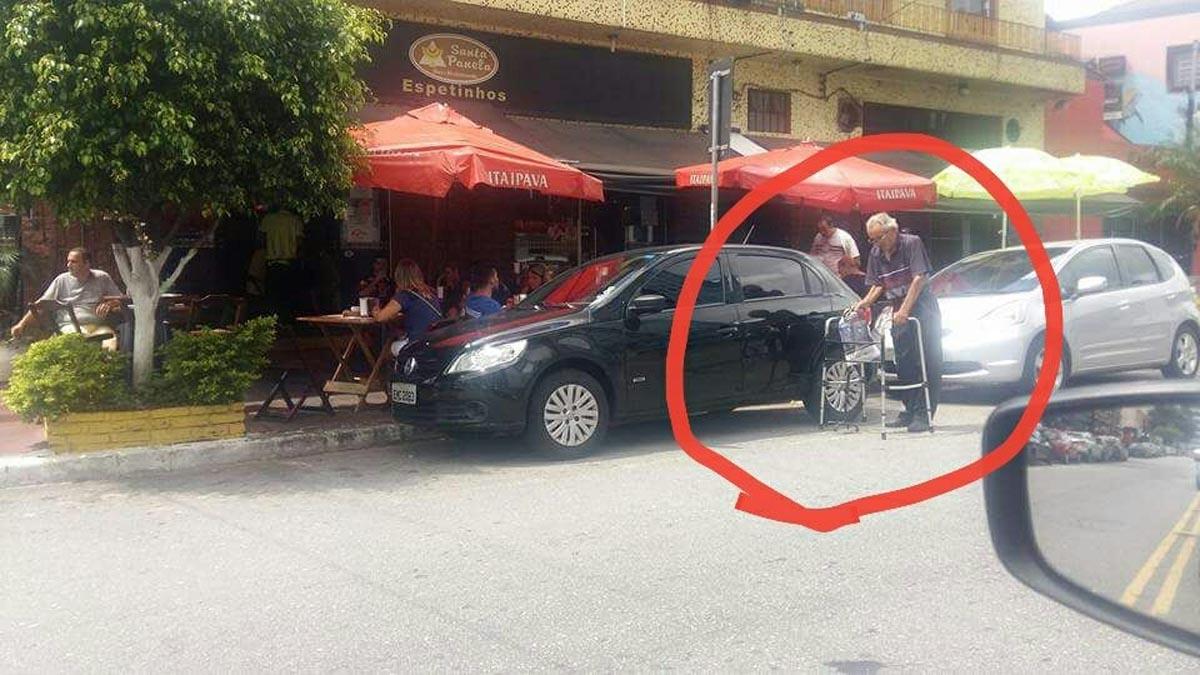 TATUAPÉ – Pedestres são desrespeitados