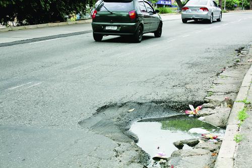 Avenida dos buracos, a Itaquera?