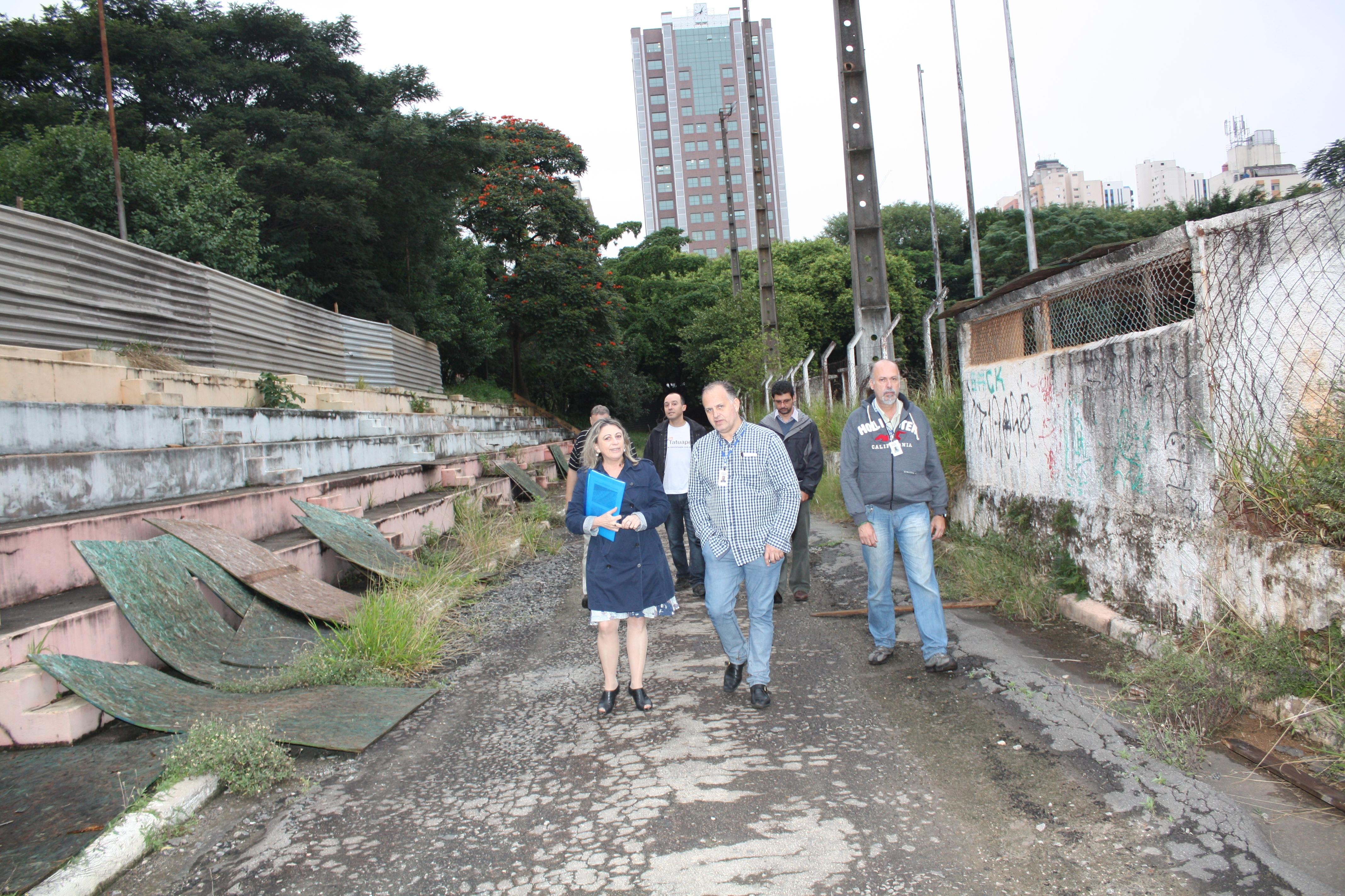 Mobilização para a reabertura do Clube Escola Tatuapé