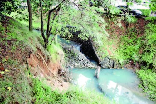 Erosões no Córrego Rapadura preocupam
