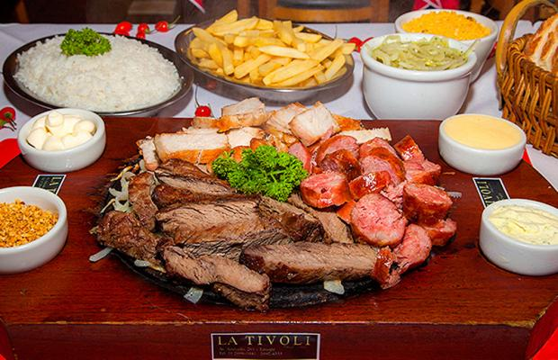 La Tivoli: sempre uma opção para a sua refeição