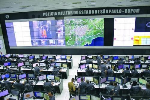 Visita ao Centro de Operações da PM – Copom