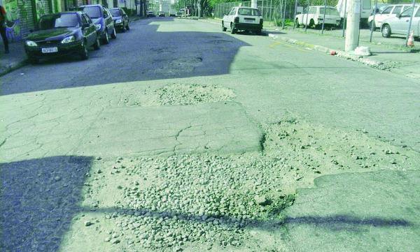 Itaquera e Artur Alvim – Número de buracos só aumenta