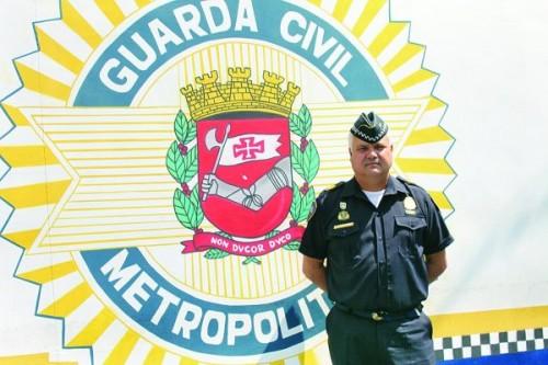 O comandante da Regional Mooca da GCM, que fica no Lgo do Bom Parto, é Claudemir Frassão