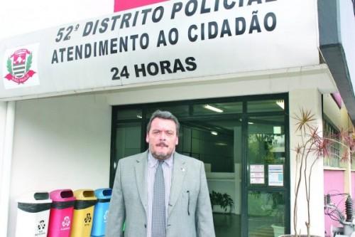 O morador do Tatuapé, Eduardo Kosovicz, é o delegado titular do 52º DP - Parque São Jorge