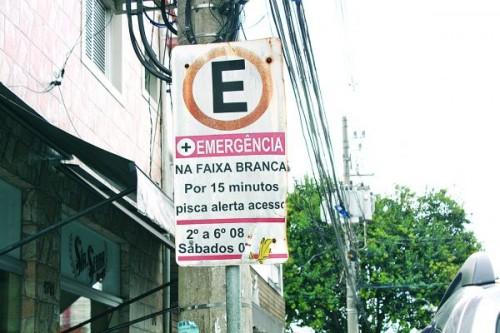 A esquina das multas no Tatuapé