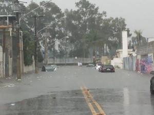 Rua Arnaldo Cintra – Moradores preveem enchentes