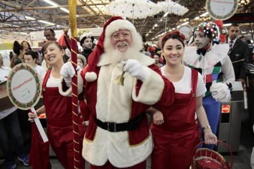 Papai Noel chega amanhã, no Complexo Tatuapé!