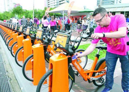 Tatuapé tem estação do novo Bike Sampa