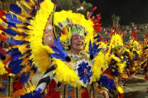 Confira as fotos do desfile da Acadêmicos do Tatuapé