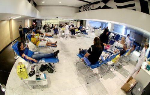Sangue Corinthiano se mobiliza e ajuda com campanha