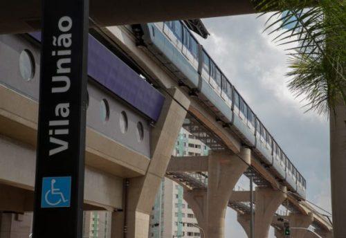 Linha 15-Prata opera com  mais quatro estações