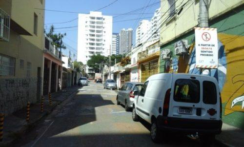 Tatuapé – Rua Cacaueira agora é mão única