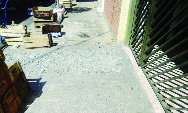 Rua Sebastião Barbosa – Sabesp nega problemas