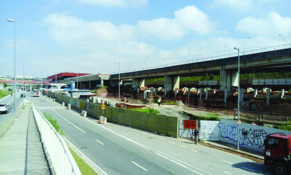 Obra do novo Terminal de Itaquera está parada
