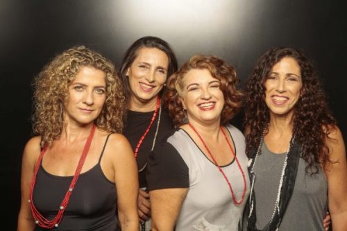 Choronas em show e workshop no Teatro Arthur Azevedo