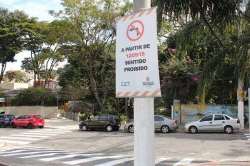 Viário:  Rua Jarinu muda de mão amanhã