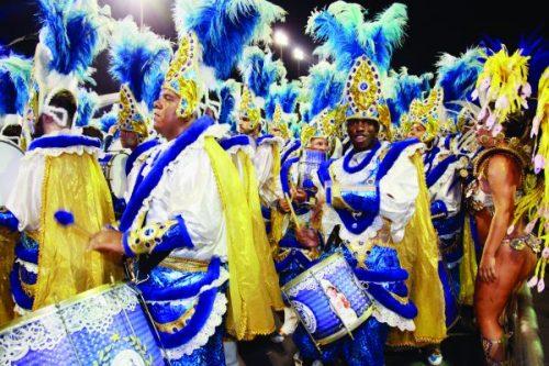 Carnaval de ponta e profissional no Tatuapé