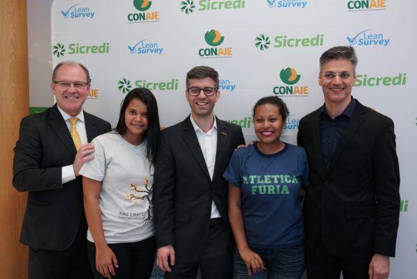 Sicred fecha parceria com a Conaje  em prol do jovem empreendedor