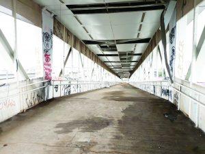 Arena Corinthians – Passarela está destruída