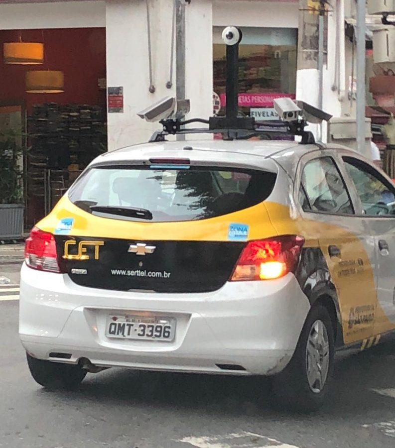 Zona Azul – Carro vai multar com maior eficiência
