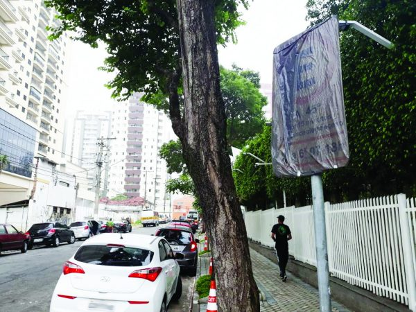 Rua Airi – CET altera estacionamento